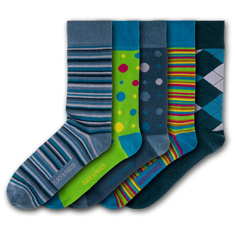 Compton Acres Socks // Set of 5
