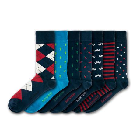 Weymouth Peace Garden Socks // Set of 7