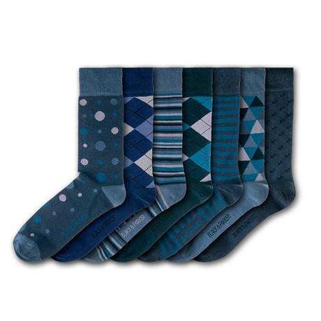 Burnby Hall Gardens Socks // Set of 7