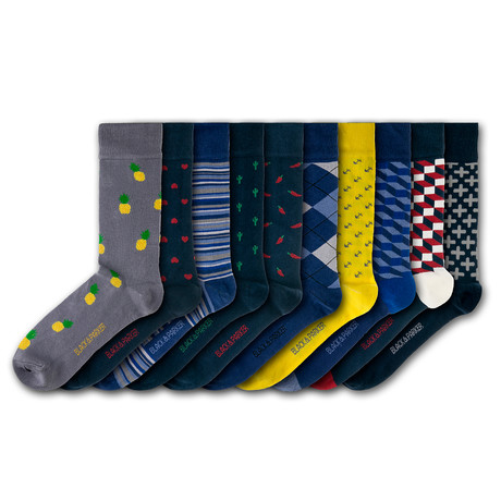 Westbury Court Socks // Set of 10