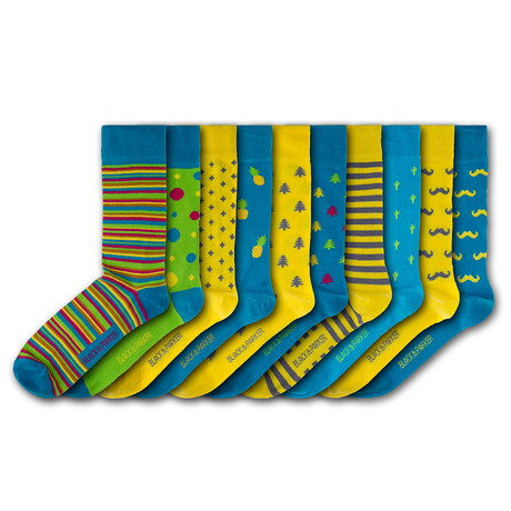 Chiswick House Socks // Set of 10