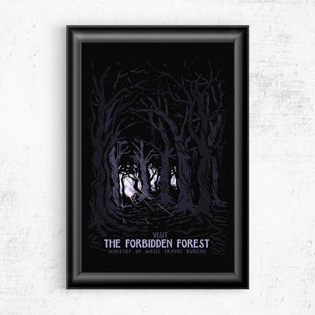 "Forbidden Forest // Harry Potter (16""W x 20""H)"