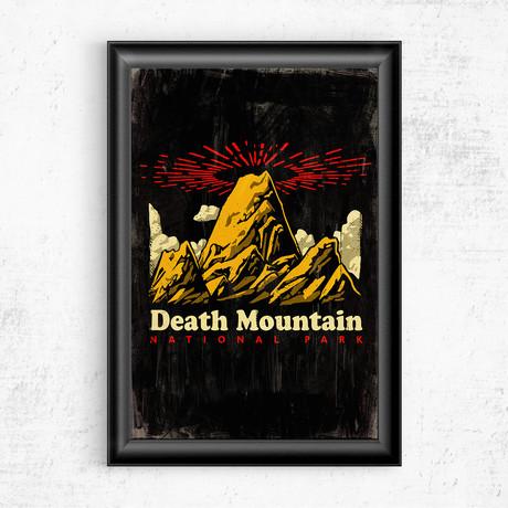 "Death Mountain // Legend of Zelda (16""W x 20""H)"