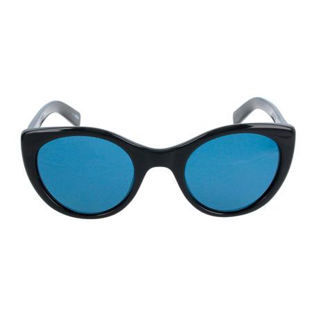 ZC0009 Unisex Sunglasses // Shiny Black + Blue