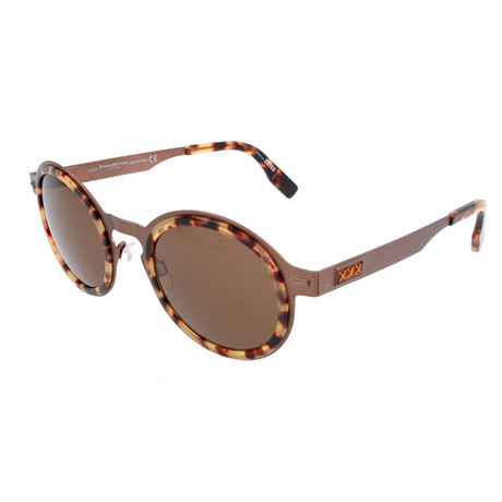 Men's ZC0006 Sunglasses // Bronze + Roviex