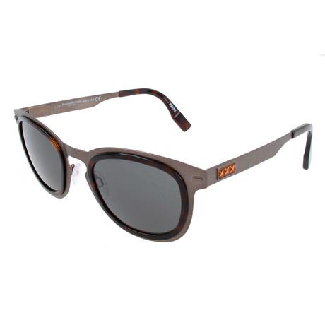 Men's ZC0007 Sunglasses // Gray + Smoke