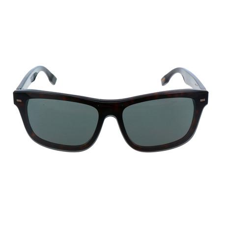 ZC0015 Men's Sunglasses // Dark Havana + Smoke
