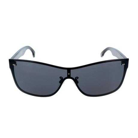ZC0016 Men's Sunglasses // Matte Black + Smoke