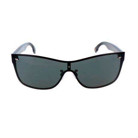 ZC0016 Men's Sunglasses // Matte Light Ruthenium + Smoke