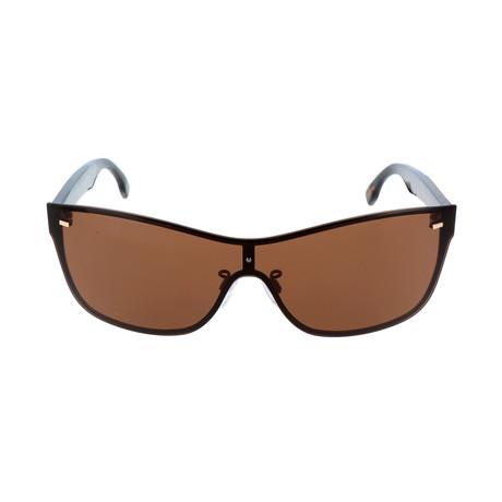 ZC0016 Men's Sunglasses // Matte Dark Bronze + Smoke