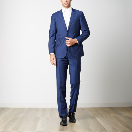 Paolo Lercara // Modern Fit Suit // Royal Blue (US: 38R)