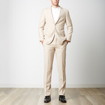 Paolo Lercara // Modern Fit Suit // Beige (US: 42R)