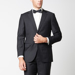 Paolo Lercara // Modern Fit Suit // Black (US: 40S)