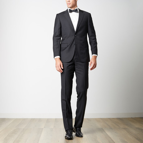 Paolo Lercara // Modern Fit Suit // Black (US: 36S)