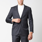 Paolo Lercara // Modern Fit Suit // Charcoal (US: 40S)
