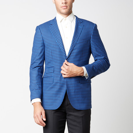 Paolo Lercara // Modern Fit Sport Jacket // Blue Box (US: 38R)
