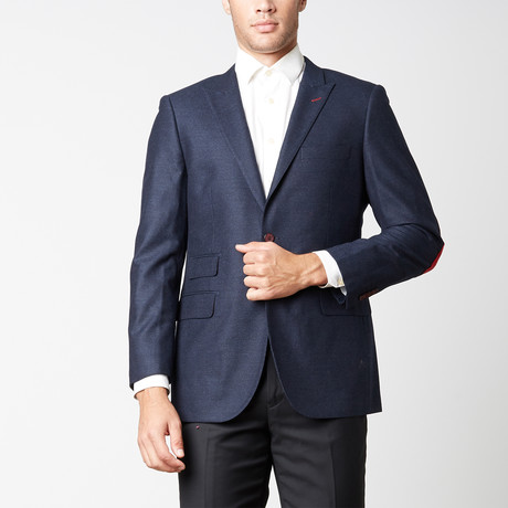 Paolo Lercara // Modern Fit Sport Jacket // Navy (US: 38R)