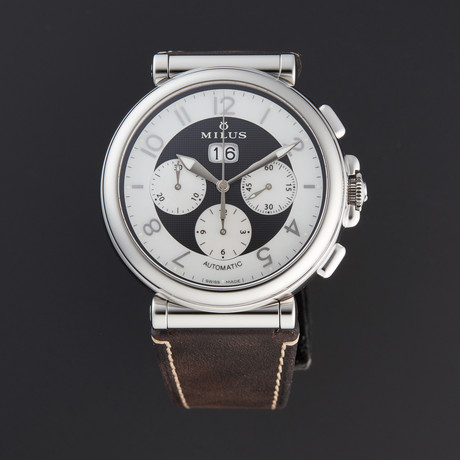 Milus Zetios Chronograph Automatic // ZETC012 // Store Display