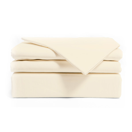 Sheet Set + Mist // Ivory (Twin)