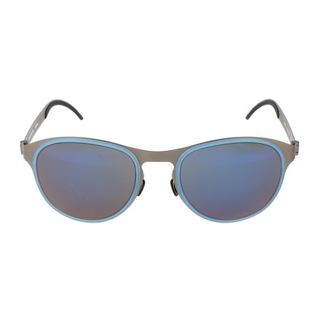 Men's Fredi Sunglasses // Blue + Gunmetal