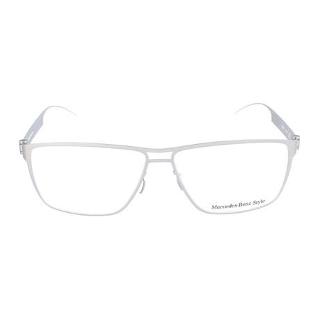Men's M2058 Frames // Silver