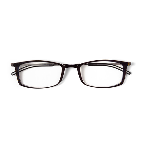 FrontPage // Brooklyn Black Glasses + Milano Black Case (1.5 D)