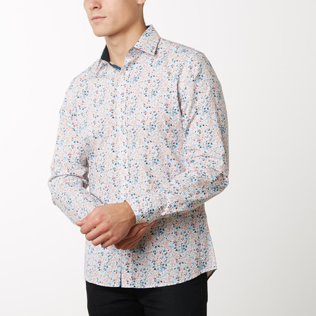 Foster Slim-Fit Dress Shirt // White (S)