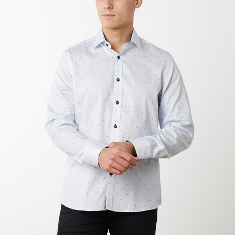 Vern Slim-Fit Dress Shirt // White (S)