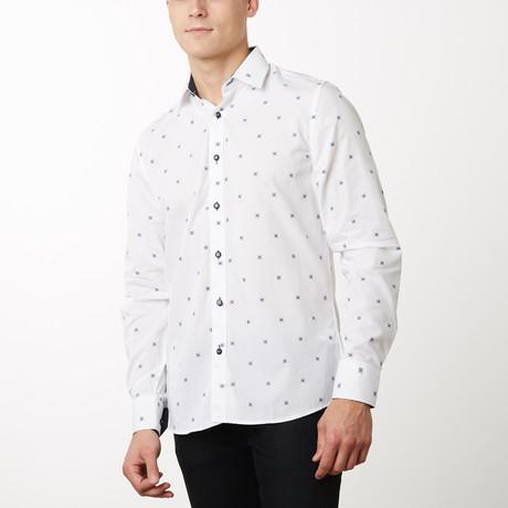 Herman Slim-Fit Dress Shirt // White (S)