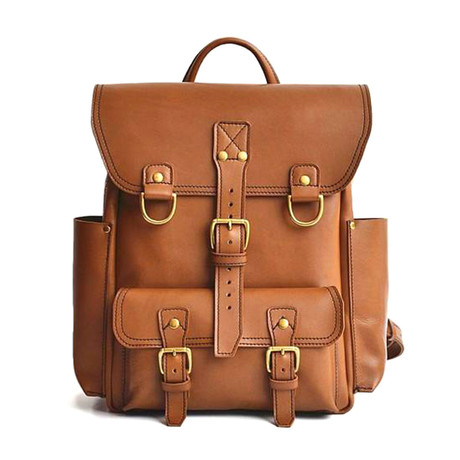 Backpack Tan // Tan Brown