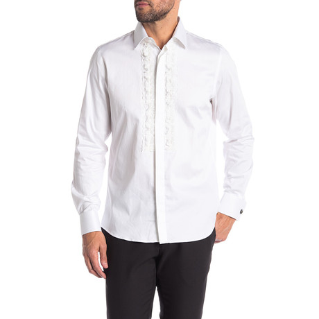 Sonny Slim-Fit Dress Shirt // White (S)