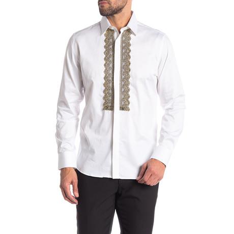 Walton Slim-Fit Dress Shirt // White (S)