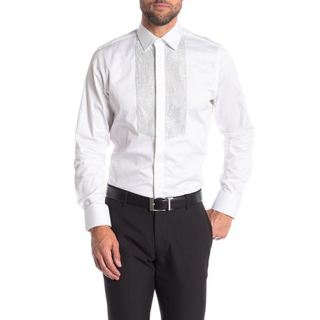 Rueben Slim-Fit Dress Shirt // White (S)