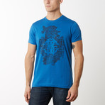 Muzio T-Shirt V2 // Cornflower Blue (M)