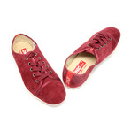 Runner Lace-Up Sneaker // Maroon (US: 7)