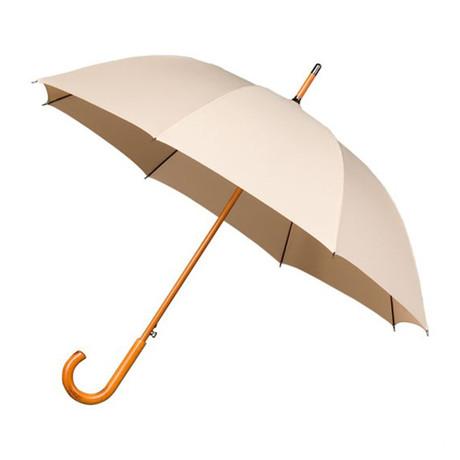 Falcone // Automatic Umbrella + Wood Handle // Beige