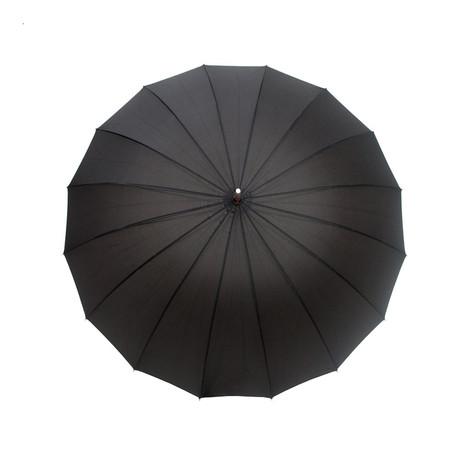 Large Walking Automatic Umbrella // Black