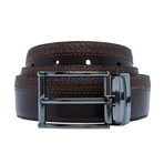 Smooth Leather Belt // Brown (Size 30)