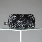 Nappa Leather Toiletry Bag // Black