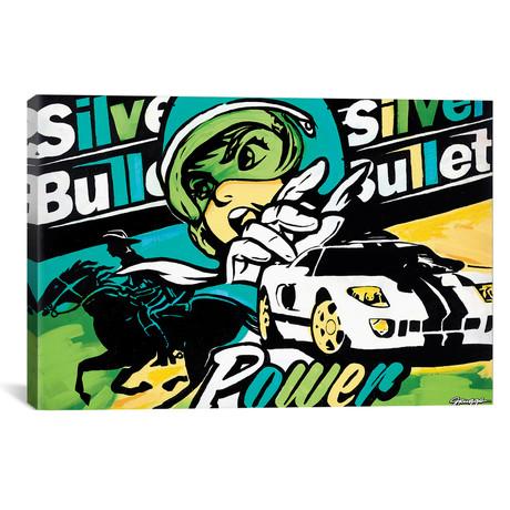 """Silver Bullet I // JRuggs (18""""W x 26""""H x 0.75""""D)"""