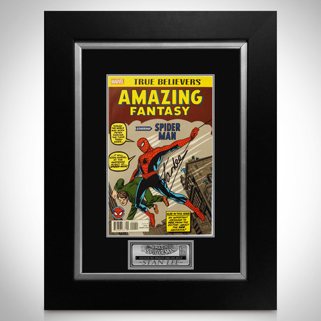 Amazing Fantasy #15 - Spider-Man Milestones Edition // Stan Lee Signed Comic // Custom Frame (Signed Comic Book Only)