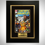 Infinity Gauntlet #1 // Stan Lee Signed Comic // Custom Frame (Signed Comic Book Only)