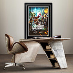 Avengers // Cast Signed Poster // Custom Frame