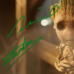 Baby Groot // Vin Diesel + Stan Lee Signed Photo // Custom Frame