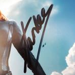 Black Widow // Scarlett Johansson + Stan Lee // Custom Frame