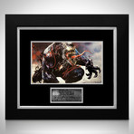 Venom // Tom Hardy + Stan Lee Signed Promotion Art Photo // Custom Frame