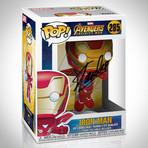 Infinity War Iron Man Funko Pop // Stan Lee Signed