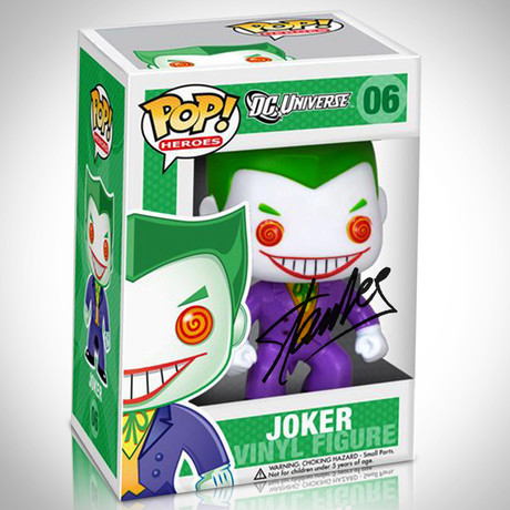 Joker // Stan Lee's DC Days Signed Pop