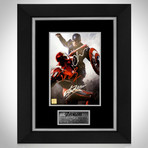Captain America Vs Ironman // Robert Downey Jr. + Chris Evans + Stan Lee Signed // Custom Frame