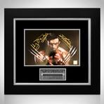 Wolverine // Hugh Jackman + Stan Lee Signed Photo // Custom Frame